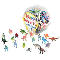 Dinosaurs Math & Sort