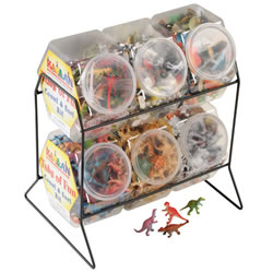 Math & Sort Tubs With Rack (Set of 6)