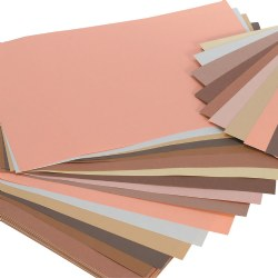"Multicultural World Construction Paper 12"" x 18"" (50 Sheets)"