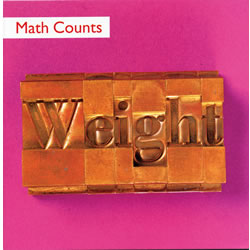 Math Counts: Weight (paperback)