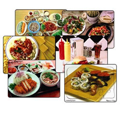 Multi-Ethnic Food Puzzle Set (Set of 6)