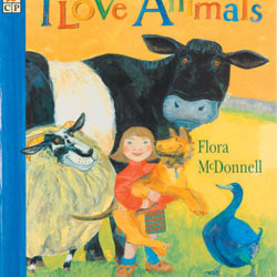 I Love Animals - Big Book