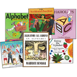 Alphabet Book Set (Set of 6)