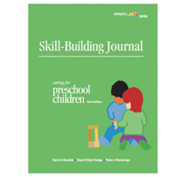 A Skill-Building Journal For Caring For Preschool Children