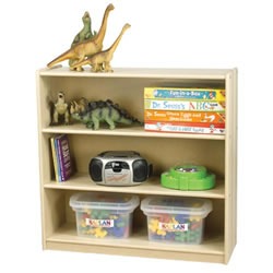 Carolina Line 3-Shelf Storage Case - Fully Assembled