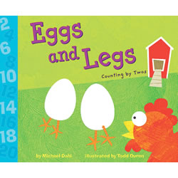Eggs and Legs: Counting by Twos - Paperback