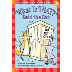 What Is That? Said The Cat - Paperback