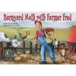Barnyard Math with Farmer Fred - Paperback
