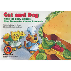 Cat and Dog Make the Bes,t Biggest, Most Wonderful Cheese Sandwich - Paperback