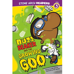 Buzz Beaker and the Growing Goo - Paperback
