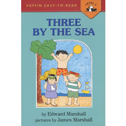 Three by the Sea - Paperback