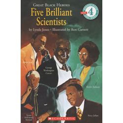 Great Black Heroes: Five Brilliant Scientist - Paperback