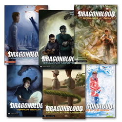 Dragon Blood Book Set (Set of 6)