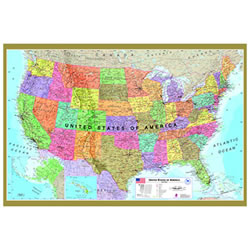 USA Map 500 Piece Jigsaw Puzzle