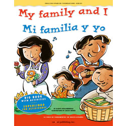 My Family and I - Bilingual Big Bookk