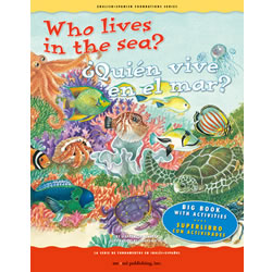 Who Lives in the Sea? - Bilingual Big Book