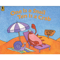 One is a Snail, Ten is a Crab - Paperback
