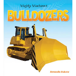 Mighty Machines Bulldozers - Paperback