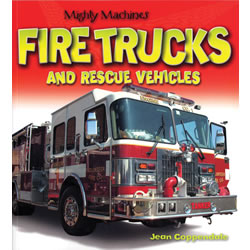 Mighty Machines Fire Trucks and Rescue Vehicles - Paperback