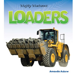 Mighty Machines Loaders - Paperback