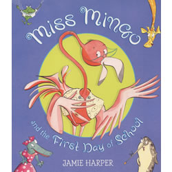 Miss Mingo and the First day of School - Paperback