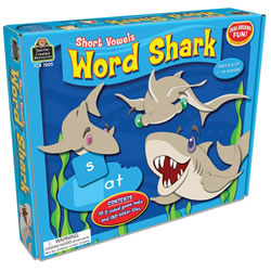 Word Shark: Short Vowels Game