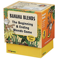 Banana Blends: The Beginning and Ending Blends Game