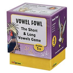 Vowel Fowl: The Short and Long Vowels Game