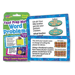 Word Problems Test Prep Math - Grades 4 - 6