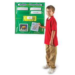Spotlight on Science® Words Pocket Chart