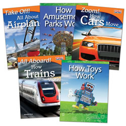 How Things Work - Grades 3 - 5 (Set of 5)