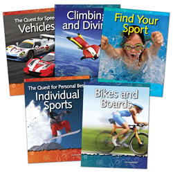Science in Sports Grades 3 - 5 (Set of 5)
