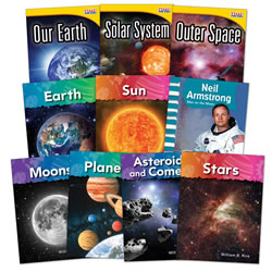 Space Exploration - Grades 1 - 2 (Set of 10)