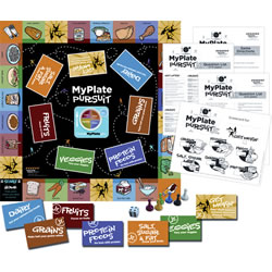 My Plate Pursuit JR. Board Game