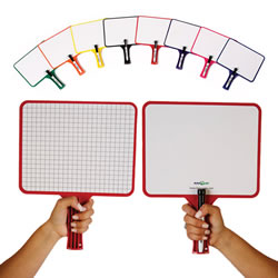KleenSlate Kwik-Check Graph Boards and Markers