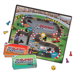 Super Speedway Board Game