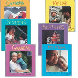 Family Board Books (Set of 6)