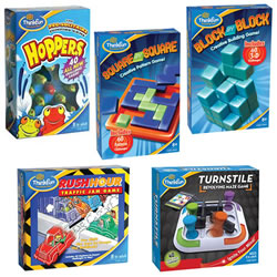 Think Fun Games Set (Set of 5)