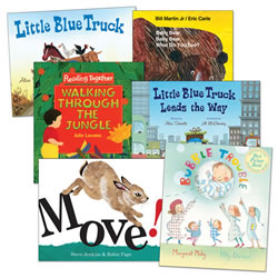 Rhyme, Rhythm and More Big Book Set (Set of 6)