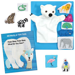 Polar Bear Story Set and Book