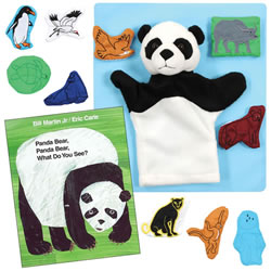 Panda Bear Story Set and Book