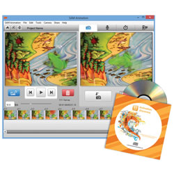 SAM Animation: 10-Pack Computer License (Mac or PC)