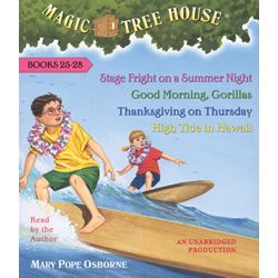 Magic Tree House Read-Along CD (25-28)