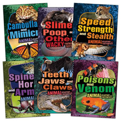 Animal Weapons and Defenses Book Set (Set of 6)