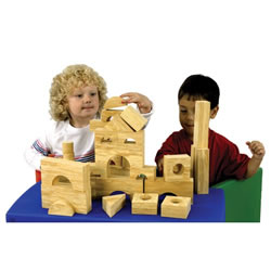 "Foam ""Wooden"" Blocks"