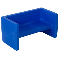 Children's Bench - Blue