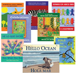 English / Spanish Story Books (Set of 8)