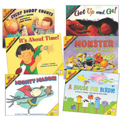 Mathstart Book Set 2 (Set of 6)