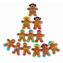 Gingerbread Sort and Snap Cookies (Set of 12)