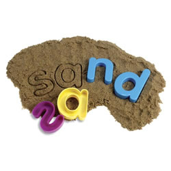 Lowercase Sand Molds
